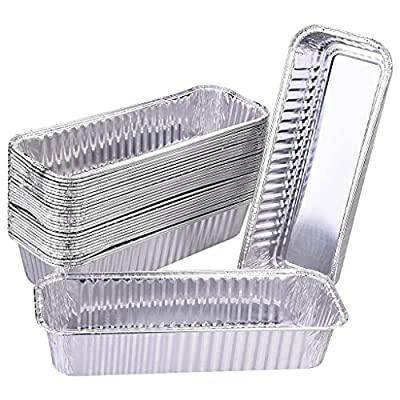 DONSIQIZZ 30 Pack Grill Drip Pans Compatible with Camp Chef Portable Grills Accessories, Disposable Heavy-Duty Aluminum Grease Drip Tray Liners