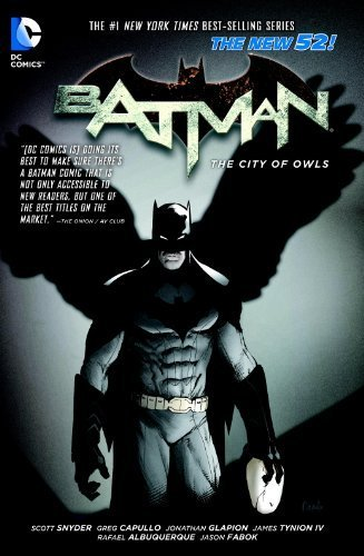 Batman Vol. 2: The City of Owls (The New 52) by Snyder, Scott (2013) Paperback
