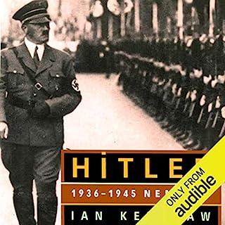 HITLER: 1936-1945 Nemesis audiobook cover art