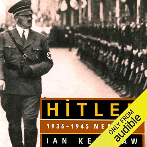 HITLER: 1936-1945 Nemesis Audiobook By Ian Kershaw cover art