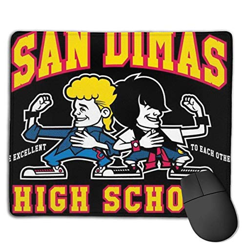 San Dimas High School Designs personnalisés Tapis de Souris de Jeu de Base en Caoutchouc antidérapant pour, PC, Ordinateurs. Idéal pour