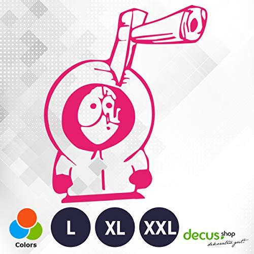Decus Kenny AXT XL 2089 (rosa) // Sticker OEM JDM Style Aufkleber