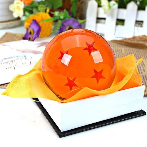 Bowee DragonBall Z bolas de en estuche de regalo 4 Estrellas Bolas de Cristal Dragon Ball aproximadamente 7 cm: Amazon.es: Hogar