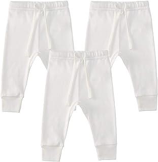 Bernisa Baby 3-Set Pants for Boys and Girls Unisex Design Adjustable Pull-Up Waistline and Elongated Shape Comfortable