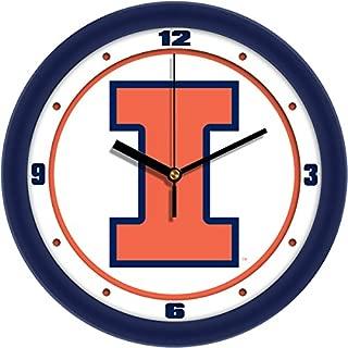 SunTime NCAA Illinois Fighting Illini Slam Dunk Wall Clock