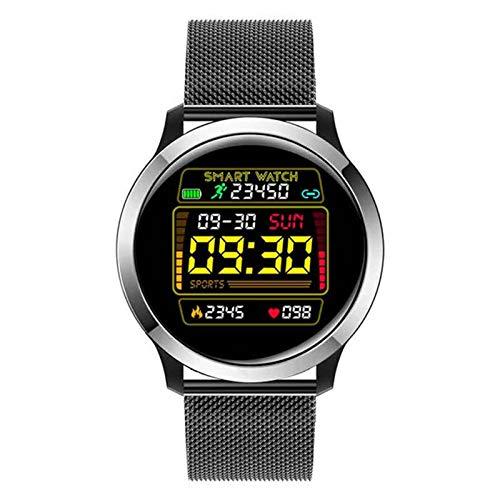 YWS E70 Smart Watch Pantalla Táctil Aplicación Hombres Y Mujeres Dispositivos Portátiles Pulsera Inteligente Monitor De Frecuencia Cardíaca Detección De ECG Pulsera Inteligente para Android iOS,D