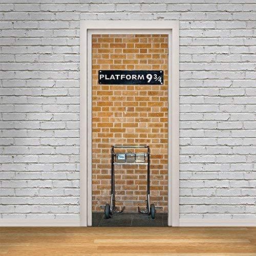 Tür-wandbild Könige Plattformübergreifend 9.75 Wohndeko Wandkunst Wandmalerei Aufkleber Wohnzimmer Kinderzimmer Restaurant Hotel Kaffee Büro Dekor Entfernbarer selbstklebend