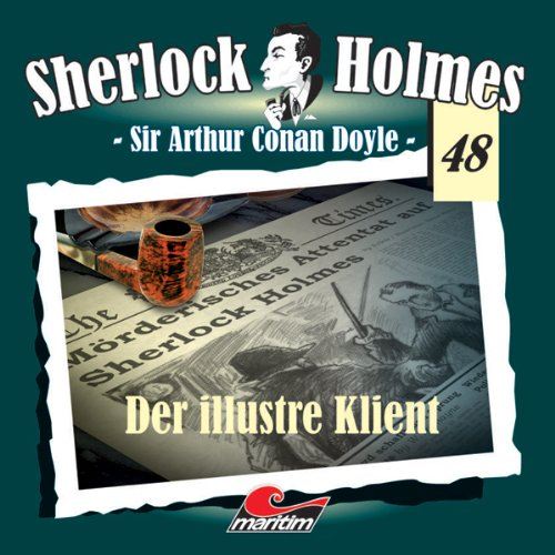 Der illustre Klient audiobook cover art