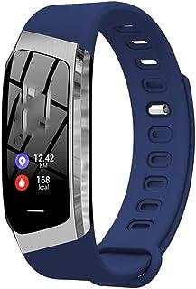 Mmurong Smart Wristband Oximeter Pantalla Táctil Magic Color Swim Detect Heart Rate Sleep Nap