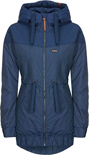 alife and Kickin Charlotte B Jacket XL, Marine dots
