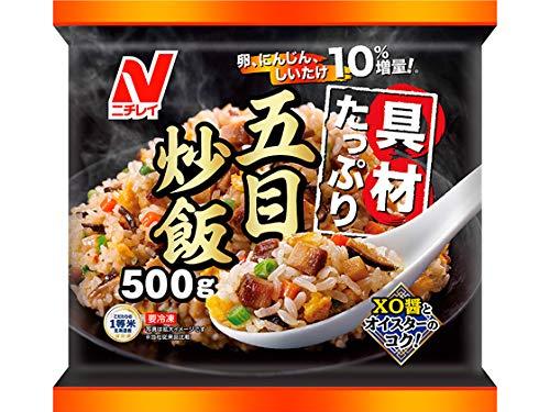 ニチレイ 具材たっぷり五目炒飯500g×12袋