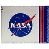 NASA Agency Logo Aeronautica Spazio bianca portafoglio