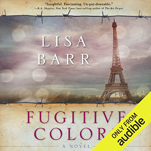 Fugitive Colors audiobook cover art
