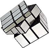 Vdealen Cubo Magico de superficie espejo, Magico Cubo Plata 3x3x3
