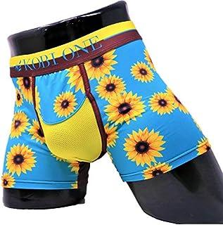 最高のフィット感、蒸れない履き心地、妊活に最適メンズボクサーパンツ コビワン/Sunflowers