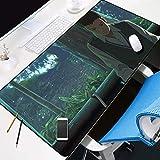 YVQLXJ Alfombrilla de Ratón Gaming Chico de animación Fibra Extrafina Mouse Pad para Computadora con Base de Goma Antideslizante para Ratón con Cable o Inalámbrico PC/Mac 700x300x3mm