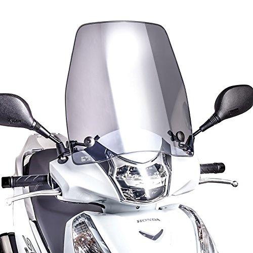 Windschild für Honda SH 300 i Scoopy 15-17 Puig Urban rauchgrau