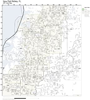 new port richey fl zip code map