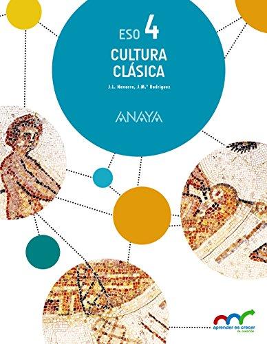 Cultura Clásica 4. (Aprender es crecer en conexión) - 9788469811474