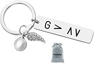 God is Greater Than The Ups and Downs Keychain Keyring Christian Jewelry Inspirational Keychain Gift Religious Keychain Sp...