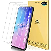 ANEWSIR Schutzfolie Kompitabel mit Samsung Galaxy S10 Lite/Note 10 Lite, 3 Stück, 9H Härte Schutzfolie, HD Klar Displayschutzfolie, Anti-Kratzen/Blasenfrei/2.5D Rand/Einfacher Montage