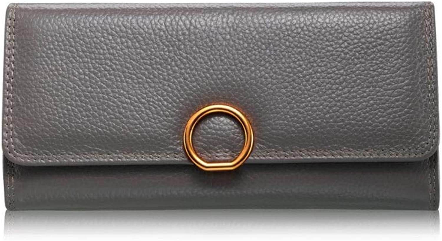 Girls Purse Women's Wallet Leather Lady Wallet Large Lady Purse Wallet 20  10  3cm (color   C)