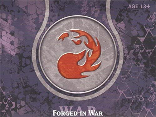servicio considerado Journey in Nyx Pre-release Pack- Forgerd in War- rojo rojo rojo by Magic  the Gathering  se descuenta