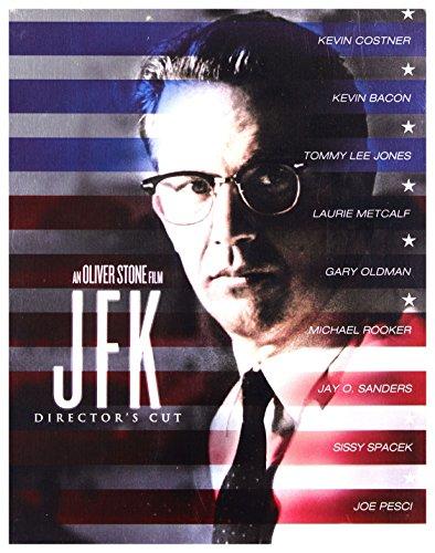 JFK (Caso abierto) Steelbook [Blu-Ray] [Region Free] (Audio español. Subtítulos en español)