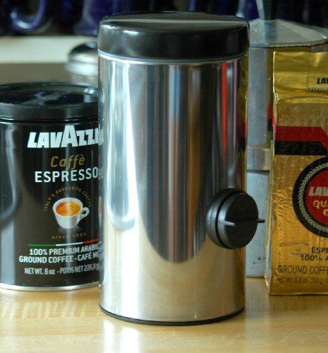 Dispensador de café molido de acero inoxidable más vendido