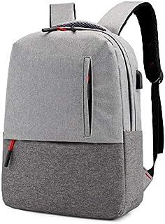 Fyuanmeiibb Backpack, Fashion Backpack Men Backpack Business Rucksack. (Color : Gray)