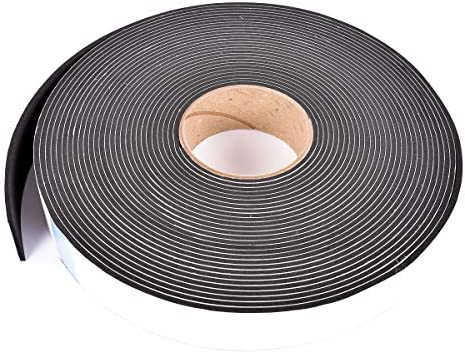 Sponge Neoprene Stripping W Adhesive 1 1 2in Wide X 1 8in Thick X 50ft Long product image