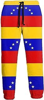 Emild Venezuela Flag Pantalones de chándal Largos para Hombre ...