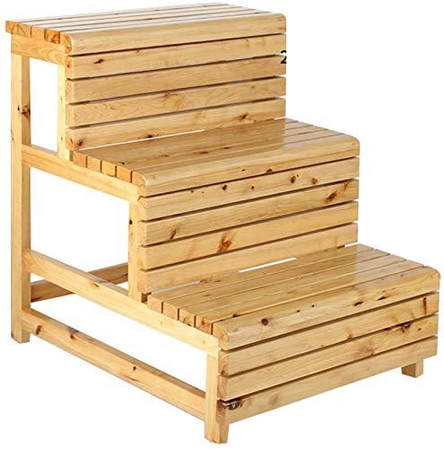 DY houten trapmels, nachtkastje, keuken, trapschuim, opvouwbare multifunctionele ladder, kruk, ideaal voor de keuken