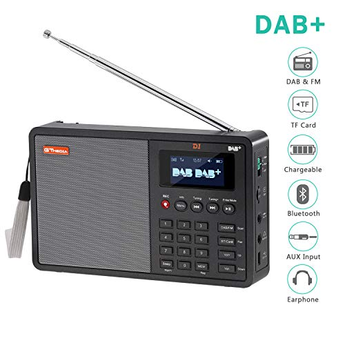 Soleebee Dab Radio 1.8 '' Pantalla LCD Transmisor