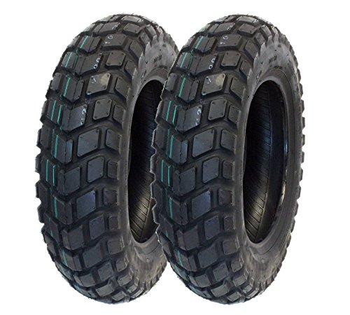 MMG Tire Set, Front 2.50-14 Rear 3.00-12 Dirt Bike Off-Road