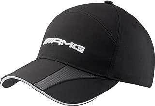 Mercedes Benz Structured Black AMG Hat w/Carbon Fiber Details