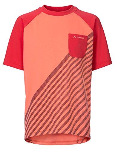 VAUDE Kinder T-Shirt Grody III, Apricot, 134-140, 06544