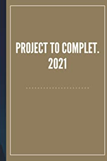 PROJECT TO COMPLET: NOTEBOOK