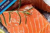 Ocean's Finest Seafood - Atlantic Salmon Fillets - Natural Premium Skin-On, 6oz / 12 portions (4lb)