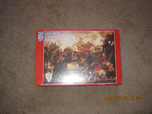 1000 Piece F.X. Schmid Puzzle Battle of Sziget 1566 (Details of Battle included inside)