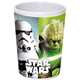 Joy Toy- Star Wars Bicchiere in Melamina, Multicolore, 7.00x7.00x11.00 cm, 756798