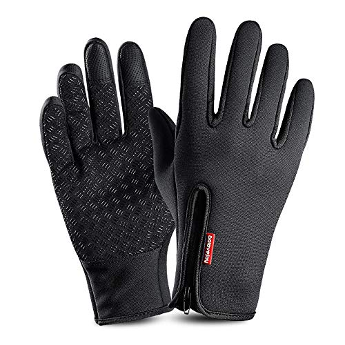 Calientes Guantes Invierno Hombre Guantes Impermeables para Moto Mujer Running Guantes Deportivos...
