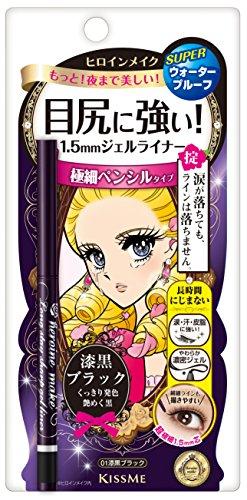 HEROINE MAKE Long Stay Sharp Gel Eyeliner 01Jet Black