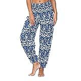 Harem Pants for Women Hippie Bohemian Casual Gypsy Pants, Ladies Yoga Pant - Baggy Boho Harem Pants