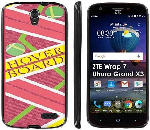 ZTE Warp 7 Grand X3 ZMAX Champ Avid 916 ZMAX 3 ZMAX Grand Silicone Case Case86 Black Gel Gummy product image