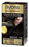 SYOSS - Oleo Intense Coloración Permanente Sin Amoníaco - Tono 1-10 Negro Intenso - 2 uds