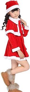 PULABO 1 Unidades Niños Niñas Ropa Navidad Santa Claus Fiesta Traje Vestido 110 cm Cómodo y AmbientalSafety