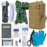 Best Trauma Kits - [2021 Upgrade] IFAK Trauma Kit,Emergency IFAK First Aid Review