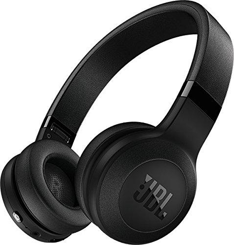 JBL C45BT On-Ear Bluetooth Kopfhörer, Leder-Kopfbügel, schwarz