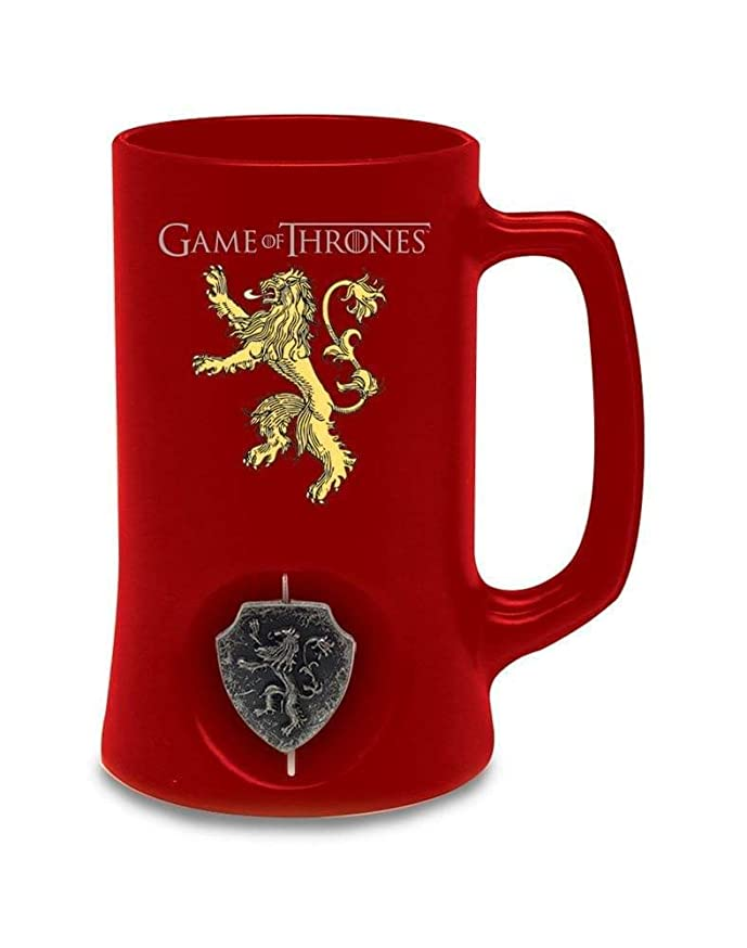 SD toys - Chope Game Of Thrones - Lannister Rouge Logo Rotatif - 8436546898047
